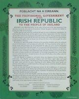 Irlandais/République D'Irlande/Irlande /Proclamation/Indépendance / Mural