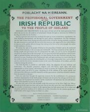 Irish Republic Proclamation of Independence Wall Plaque