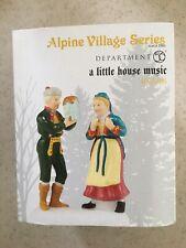 "Dept 56 Alpine Village Series ""A Little House Music"""
