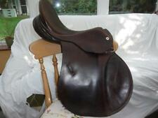 """Cliff Barnsby High Back 18"""" General Purpose GP Saddle Used"""