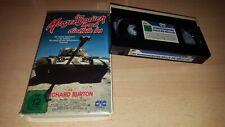 Im Morgengrauen brach die Hölle los - Richard Burton - CIC Verleihtape - VHS
