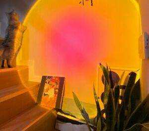 Sunset Projection Night Lights Live Broadcast Background Like Galaxy Projector