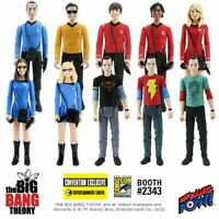 Big Bang Theory Action Figures SDCC Exclusives Amy, Penny, Shazam Sheldon & more