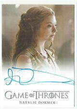 Game Of Thrones Season 5 Autograph Card Natalie Dormer as Margaery Tyrell