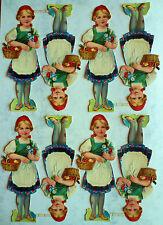 •.★.• alte Oblatenbilder Glanzbilder aus Bäckereiauflösung (46) •.★.•