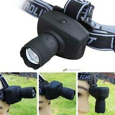 CREE 1000LM LED Headlamp Flashlight Zoomable Headlight Torch Bike Riding Lamp LN