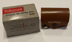 Vintage Polaroid Close Up Lens Kit 540 With Original Case And Box