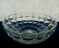 "Indiana Glass Clear Constellation 8 1/2"" Serving Bowl"
