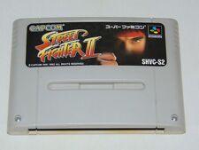 Super Famicom: Street Fighter 2 (cartucho/cartridge)