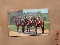 tucks Oilette British Army series British Cavalry 1714-27 unposted art