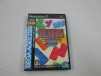 Tetris Collection Playstation 2 Japan Ver PS2 SEGA Ages