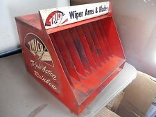 OLD Rainbow Trico Windshield Wiper Blade Gas Service Station Display Cabinet