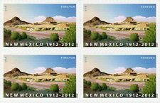 New Mexico Statehood (Forever) USA, 4-Stamp Block, Unused Scott #4591