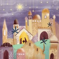Pack of 8 Silent Night Epilepsy Action Fairdeal Charity Christmas Cards