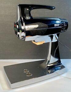 Sunbeam Mixmaster 2357 Contemporary Classics 12-Speed Chrome/Black ~ Tested