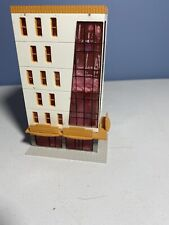 N Scale 6 Story Commercial Downtown Glass Front Building