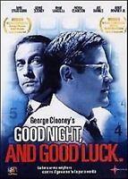 Good night and good luck 3 DVD + Booklet Cofanetto NUOVO Clooney Da Collezione