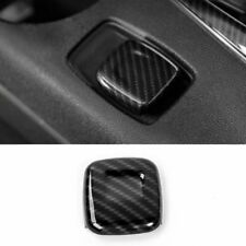 Carbon Fiber Car Cigarette Lighter Cover Frame Trim for Chevrolet Camaro 2017-18