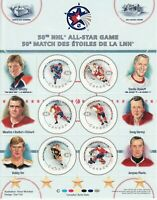CANADA 2000 NHL All Stars -1, #1838 50th All-star game w 6 x 46c NHL players NHL