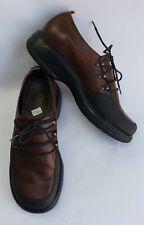 Dansko Shoes Flats Brown Black Lace Up Womens Size US 7.5-8 EU 38