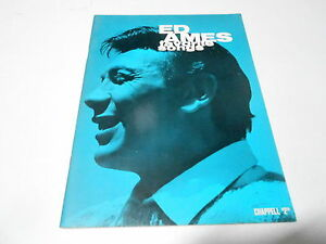 1966 (NOS) ED AMES FAVORITE SONGS music song book