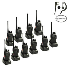 10 pcs Galwad Walkie Talkies 16CH 2 Way Radios UHF 400-470MHz Walky Talky New US