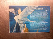 VIERGE ASTROLOGIE ZODIAQUE CATHERINE SCHMID   carte postale postcard