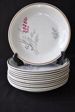 Service à soupe ou service à potage faïence décor floral Manufrance 1959