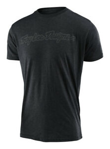 Troy Lee Designs Signature Tee Charcoal Heather
