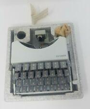 Gritzner Lettering Machine (System Butter) GM PFAFF AG KARLSRUHE Typ 4-1001-018