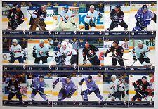 2016 Corona 8 season trading cards collection full team set Slovan --/30