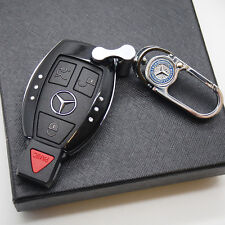 Black Car Remote Key Case Holder Shell Protect Housing Cover Decoration Gift
