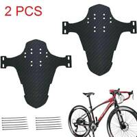 2x MTB Fahrrad E-bike vorne Mudguard Fender Spritzschutz Mudguard Schutzblech
