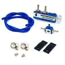 Rev9 Blue In-Cabin Adjustable Manual 1-30 PSI Turbo Boost Controller Universal