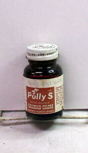 Floquil/Polly S~Acrylic~Railroad Colors~410015~Oily Black~1oz Bottle~OOP~