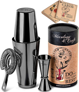 Cocktail Shaker Boston Shaker Set: Professional Weighted Martini Shakers, Cockta