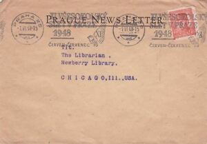 1948 Hungary #294A w Machine Slogan Cncel on Cover to Chicago IL; Bird topical*d