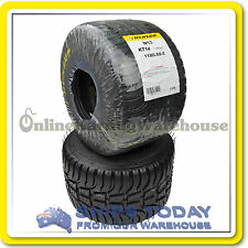 Go Kart Tyre Dunlop Kt14 Wet Rear Kt14w13 11x6.50-5 Suit Tag/r and Clubman