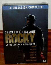 ROCKY LA COLECCION COMPLETA 6 DISCOS DVD NUEVO PRECINTADO DRAMA (SIN ABRIR) R2