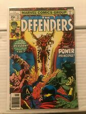 Defenders (1st Series) #53 1st Brief Appearance of Lunatik!!!!