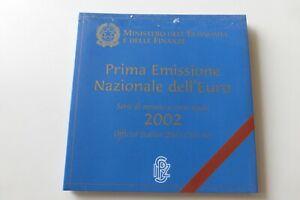 Coffret BU 1 Cent à 2 Euro Italie 2002