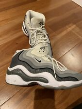 811c2aff03b3 Nike Air Zoom Flight 96 Grey/White 317980-001 Size 12 Jason Kidd EUC
