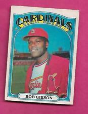 RARE 1972 OPC # 130 CARDINALS BOB GIBSON EX CARD (INV# C2266)