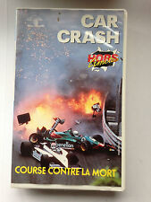 K7 VIDEO VHS HORS LIMITES CAR CRASH