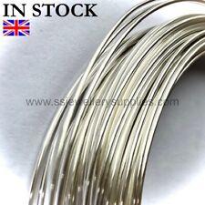 Sterling Silver SQUARE Wire 20, 21, 22, 24 gauge Soft OR Half Hard per m