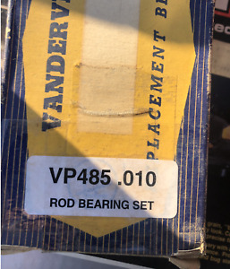 Vandervell Replacement Engine Rod Bearings - NOS - VP485 - 010 - Int'l Harvester