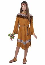 Dress Up Make Believe Child Classic Indian Girl Costume Large Costume Plays