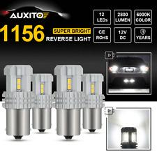 4X CREE 1156 BA15S P21W 7506L LED Backup Reverse Light ULTRA BRIGHT 6000K 2800LM