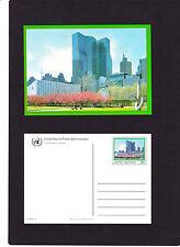 """UNO New York Ganzsache """" P 16  Parkanlagen """" postfrisch, aus ABO-Lieferung"""