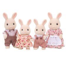 Sylvanian Families 4108 - Milk Rabbit Family - NEW!!
